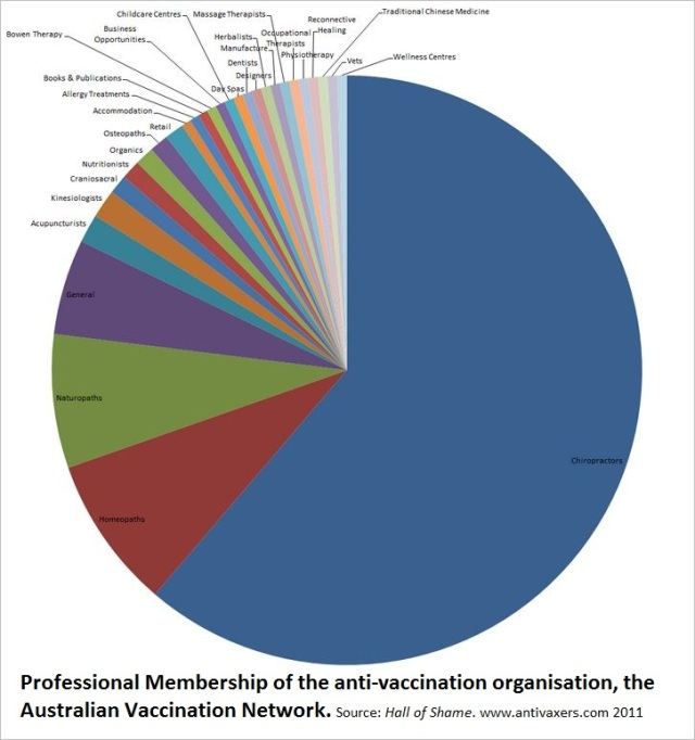 AVN PROFESSIONAL MEMBERSHIP PIECHART BY PROFESSION 2.0
