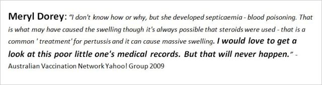 AVN Dorey Yahoo love to get a look at Dana medical records