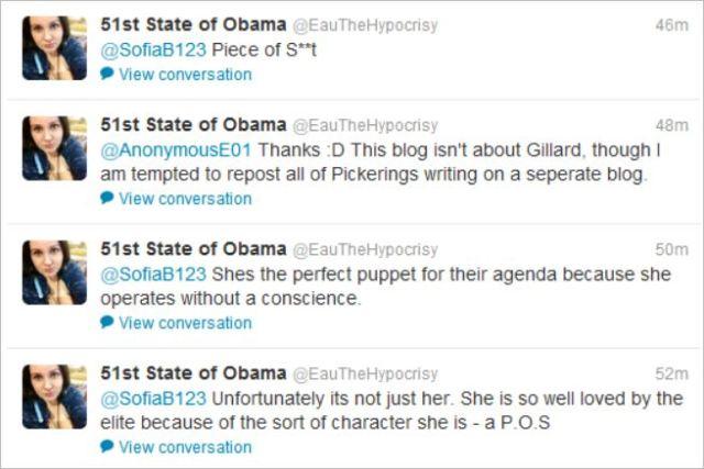 Hempel Gillard piece of shit tweet