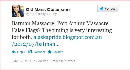 Liz 85 Port Arthur Colorado conspiracy tweet