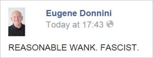 RH 103 reasonable wank fascist Eugene Donnini
