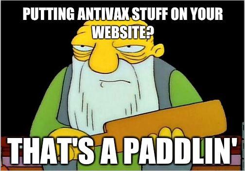 antivax paddlin'