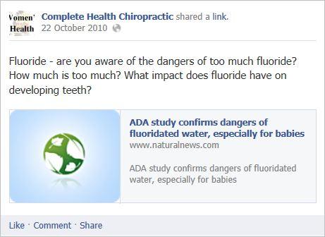 Complete health chiro 11 fluoride