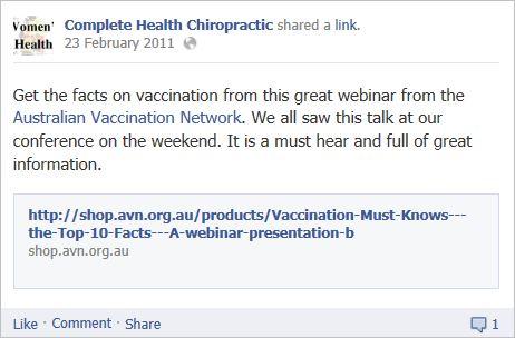 Complete health chiro 8 AVN webinar great info