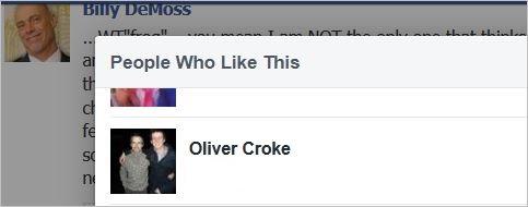 DeMoss 21 pus rant Oliver Croke likes it