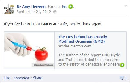 Herreen 1 GMOs unsafe