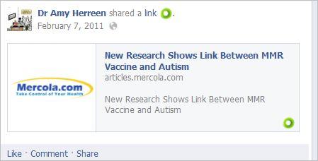 Herreen 10 Mercola vaccines autism