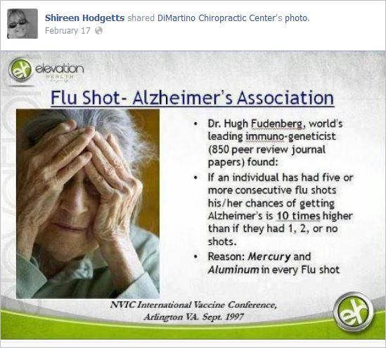 Hodgetts 3 flu shot alzheimers