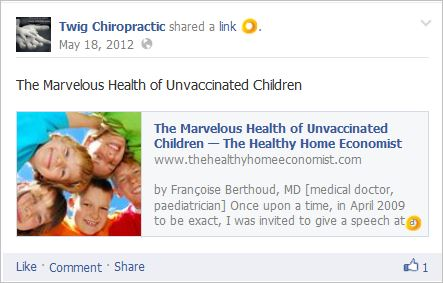 Langford 2 healthy unvaxed antivax tropes