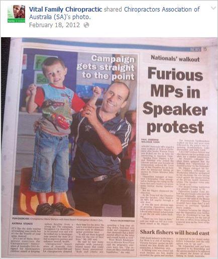Stefano 3 news piece in schools representing CAA SA