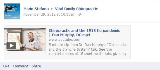 Stefano 4 chiro and the 1918 flu pandemic