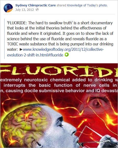 Sydney chiro 3 fluoride