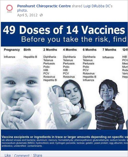 Williams 1 NVIC vaccine ingredients poster