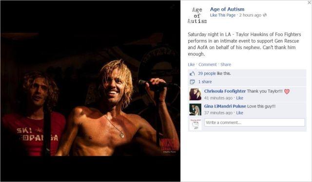 AoA 3 Foo Fighters gig