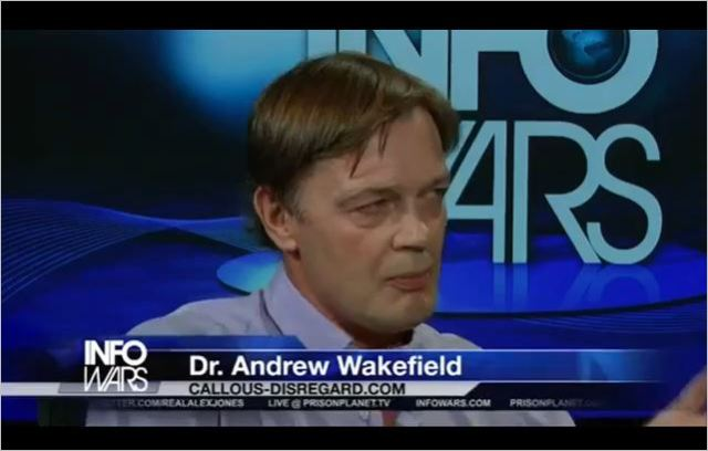Get informed baby, with Wakefield, on Infowars.