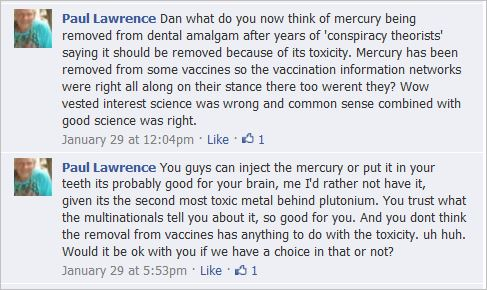 Lawrence 6 VISA comments mercury poison vaccines