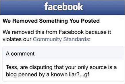 AVN 6683 Graeme banned comment