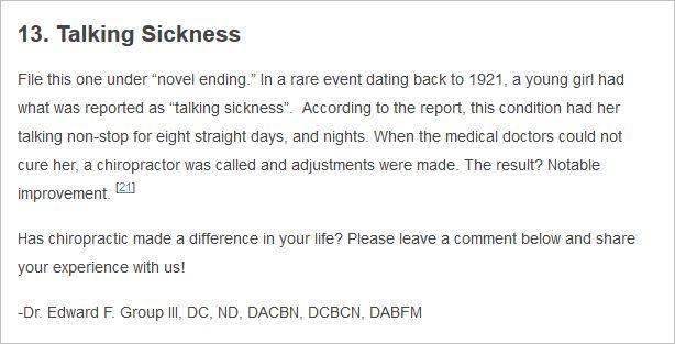 McDowell 17 talking sickness