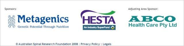ASRF DGC 2014 Hesta sponsor
