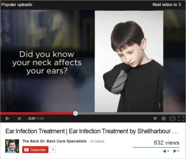 Bond 9 treats ear infections video
