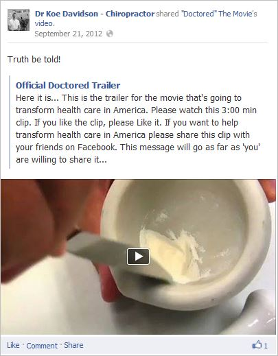 Davidson 17 Doctored trailer