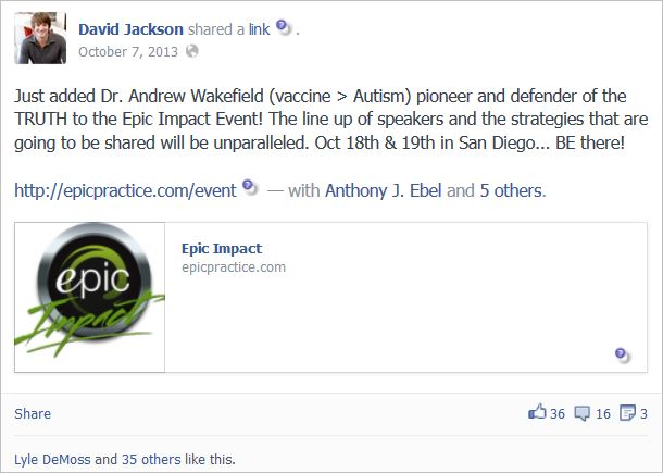 Jackson 2 Wakefield added to event