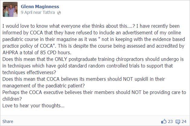 Maginness 1 COCA CPD