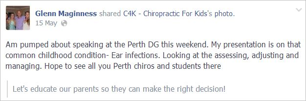 Maginnis 2 ear infections