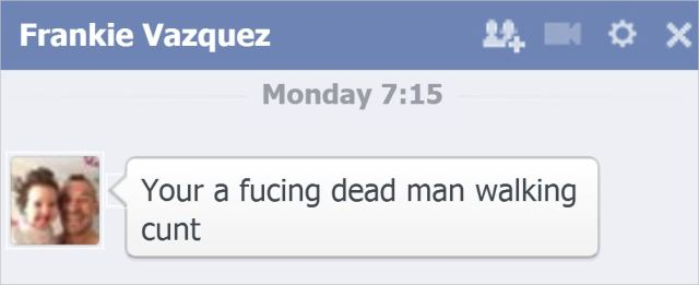 Vazquez 23 dead man walking