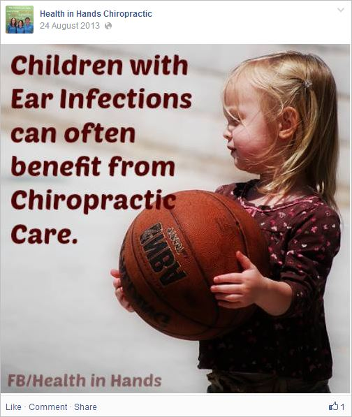 HIH 10 chiro ear infections kids