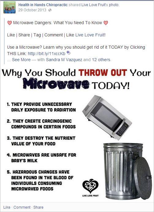HIH 12 microwaves