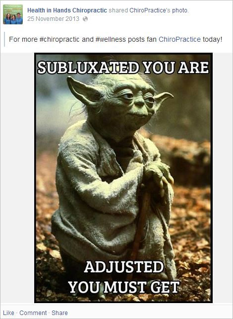 HIH 16 subluxation yoda