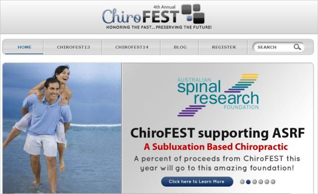 Chirofest 2 ASRF receiving funds