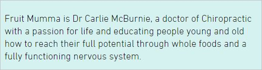 McBurnie 1 website about
