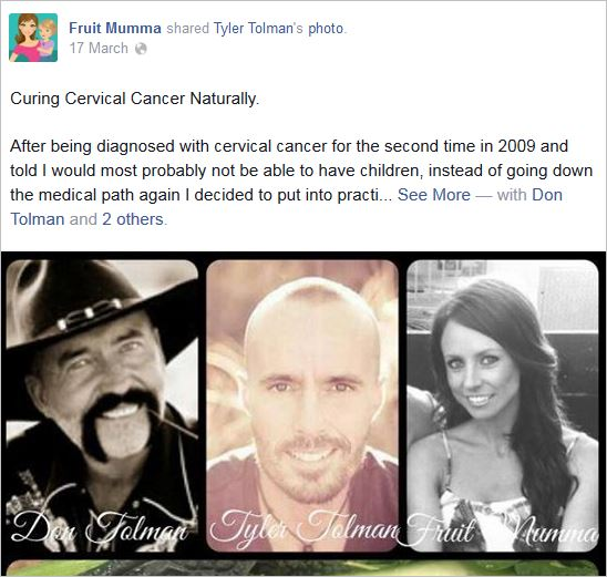 McBurnie 13 Tolmans curing cervical cancer naturally