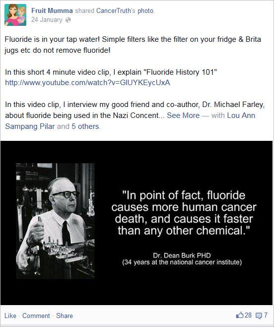 McBurnie 16 fluoride causes cancer deaths