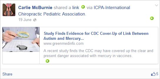 McBurnie 22 profile CDC lies