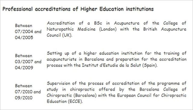 Blue Egg 1 accreditation of BCC