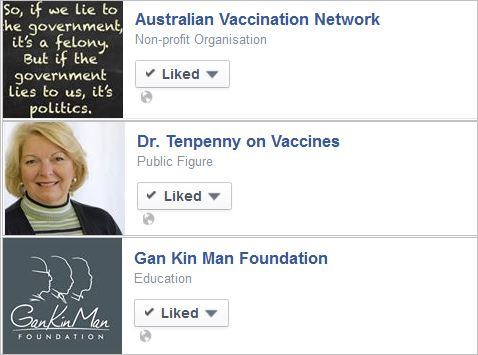Uebergang 7 likes antivax pages