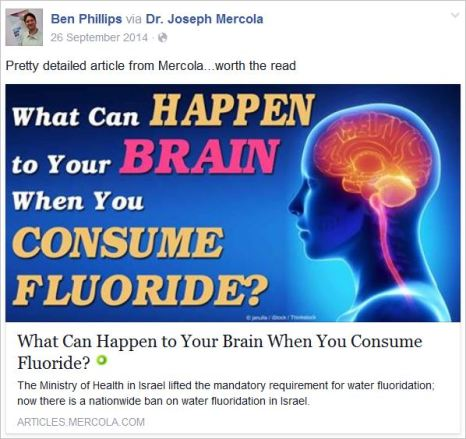 Phillips 9 anti fluoride Mercola