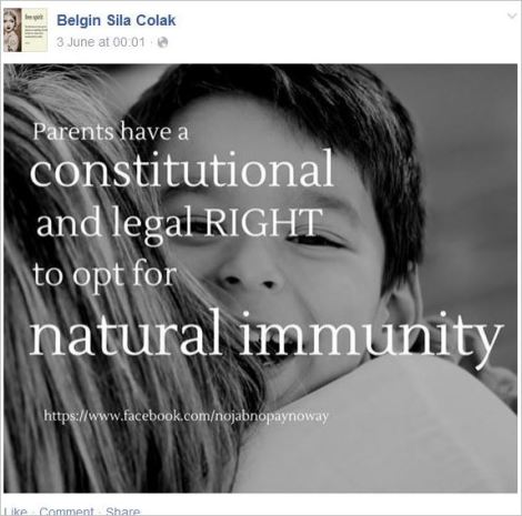 Belgin 10 right to natural immunity