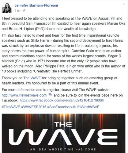 JBF 49 WAVE August 7 and 8 SF