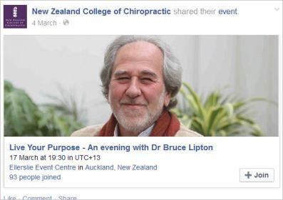 Lipton 2 NZCC event