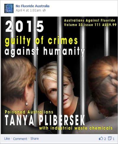 NFA 16 Plibersek behind bars