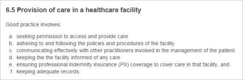 CBA 3 CoC 6.5 hospital requirements