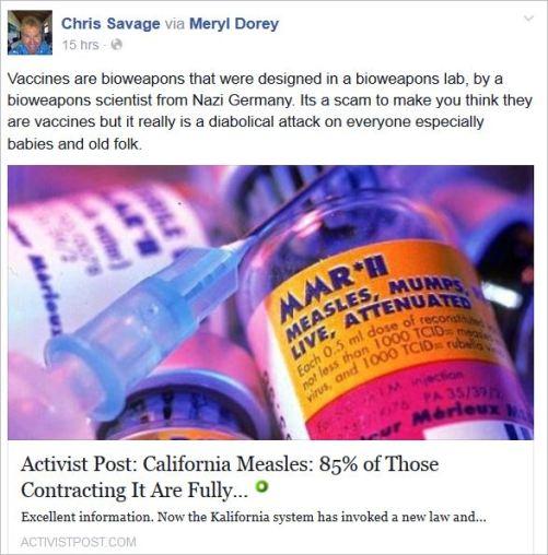 Savage 22 share Dorey bioweapons nazi