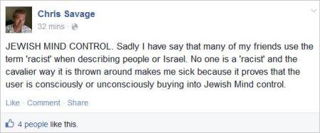 Savage 31 racist Jewish mind control