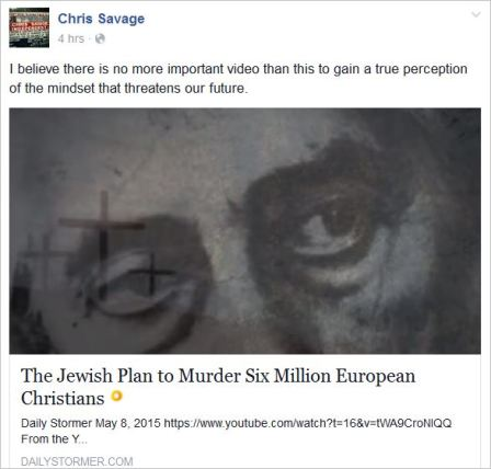 Savage 49 Jewish plot to murder 6 million xians
