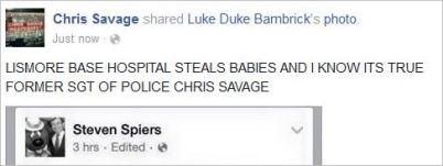 Savage 92 LBH steals babies QPS