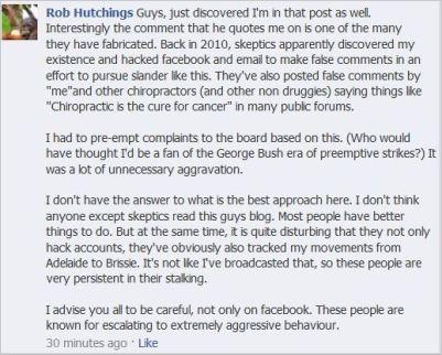 Hutchings 7 I waz hacked August 16 2013